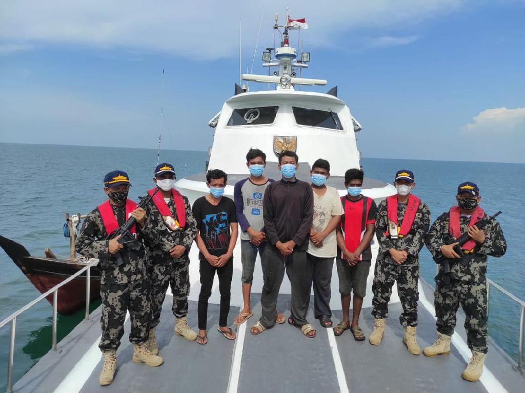 5 Nelayan Indonesia Dibebaskan Malaysia