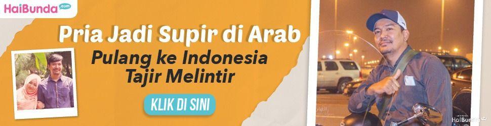 Banner Pria Sopir di Arab
