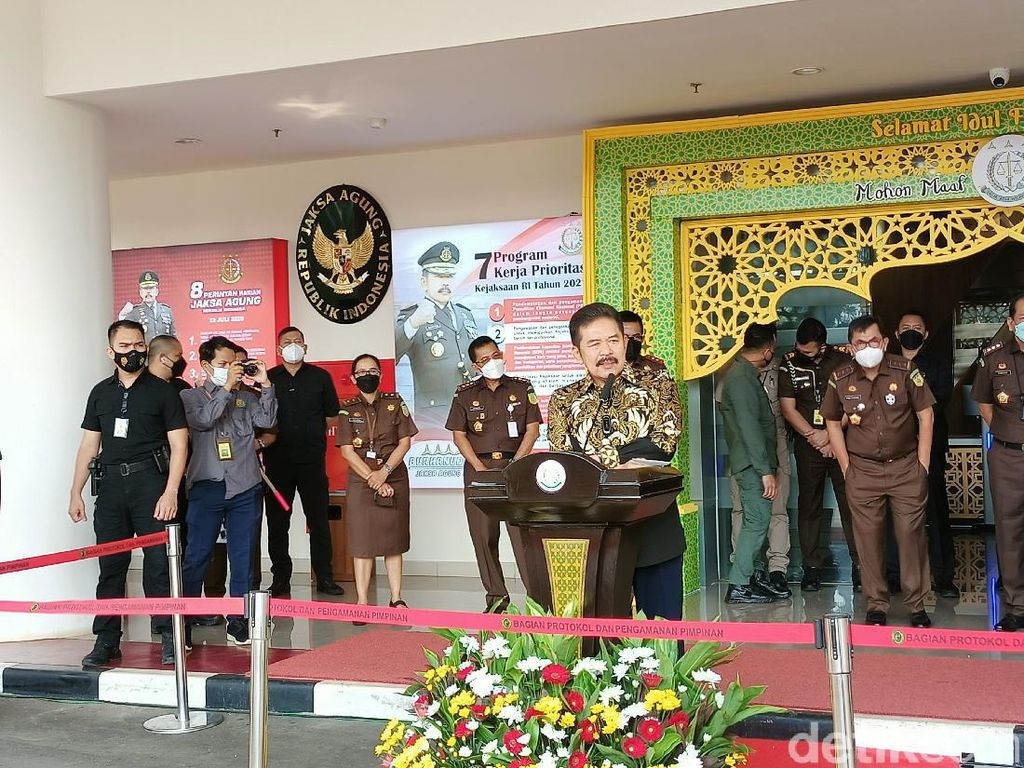 Jaksa Agung Gelar Pasar Murah Online Khusus Ojol di Jakarta
