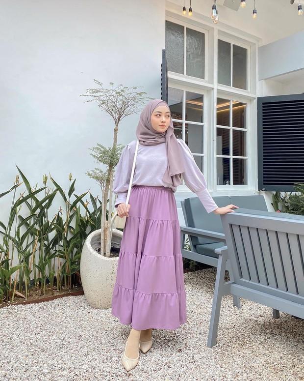 Lilac blouse
