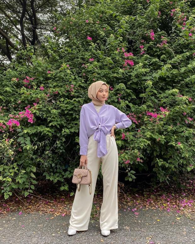 Lilac crop top