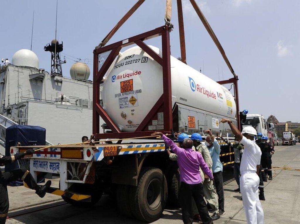 Prancis Kirim Pasokan Oksigen untuk Bantu India