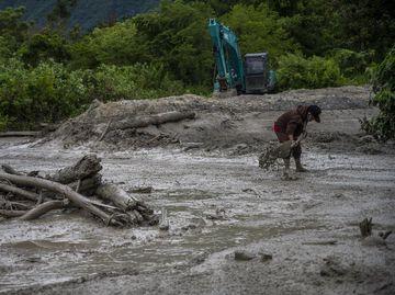 Banjir Lumpur Terjang Desa Beka Kabupaten Sigi