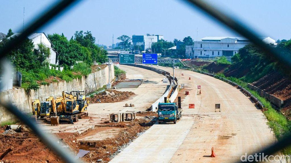 Melihat Progres Terkini Proyek Tol Pamulang-Cinere