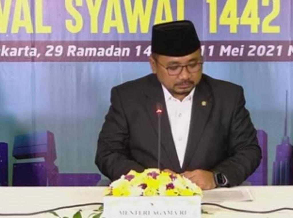 Pemerintah Umumkan Idul Fitri 1442 H Jatuh pada Kamis 13 Mei 2021