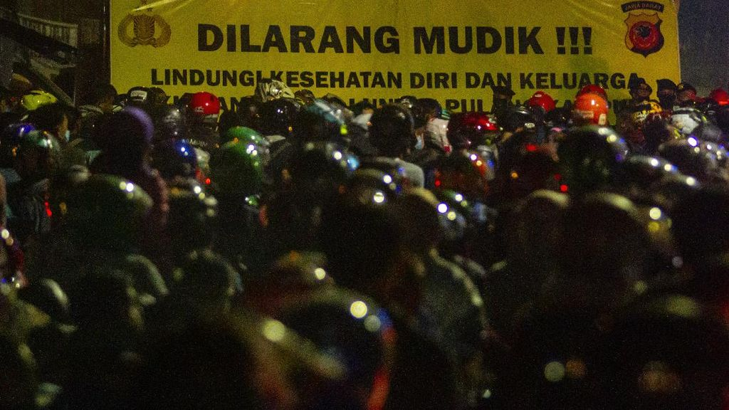 Pos Penyekatan di Pantura Subang Juga Disesaki Pemudik
