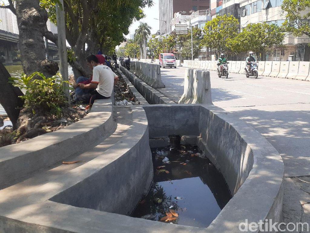 Proyek Anti-banjir Jl RE Martadinata Ancol Rampung Dikerjakan