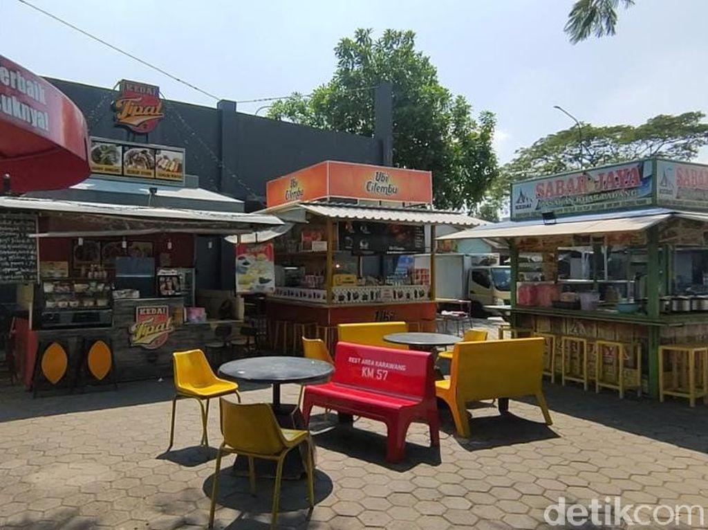 Cerita Pedagang Rest Area Tol Sepi Pembeli: Sedih, Jadi Nggak Niat Jualan