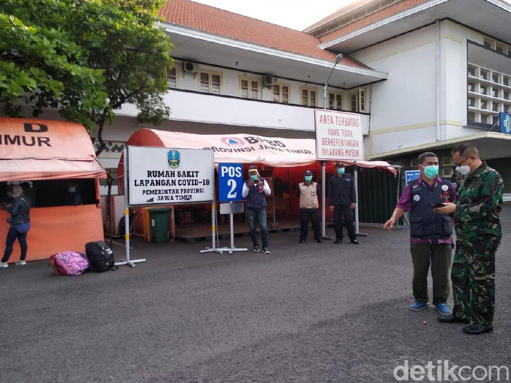 Rumah Sakit Lapangan Indrapura Surabaya Rawat 39 TKI Positif COVID-19