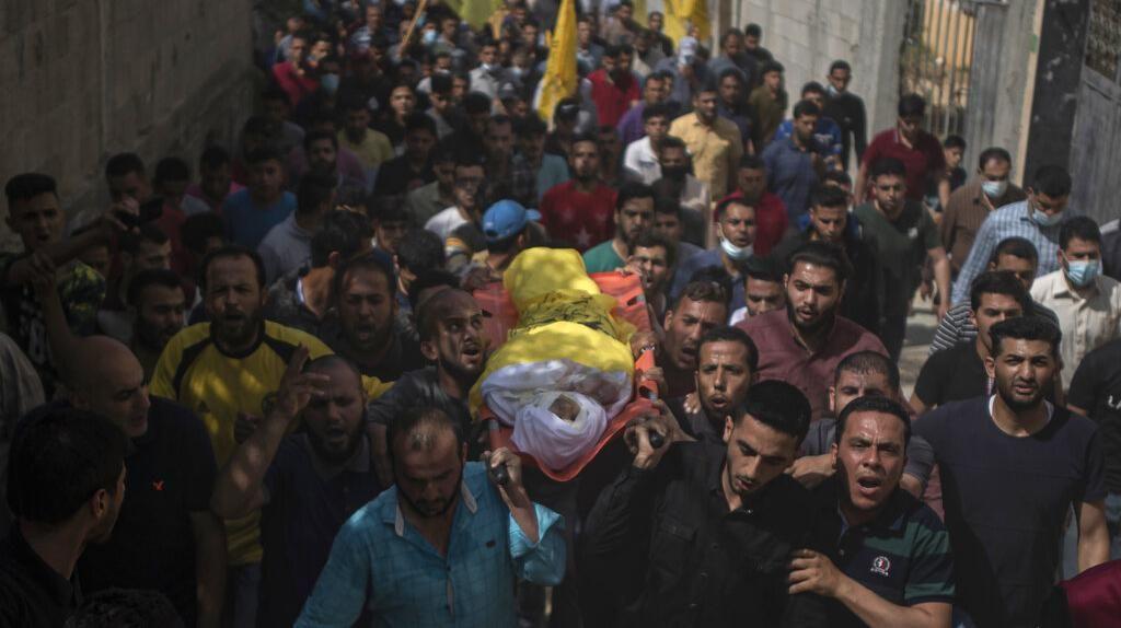 Warga Palestina Tumpah Ruah di Pemakaman Bocah Korban Serangan Israel
