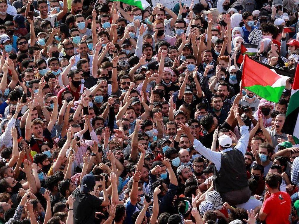 Ramai-ramai Warga Dunia Membela Palestina di Hari Terakhir Ramadhan