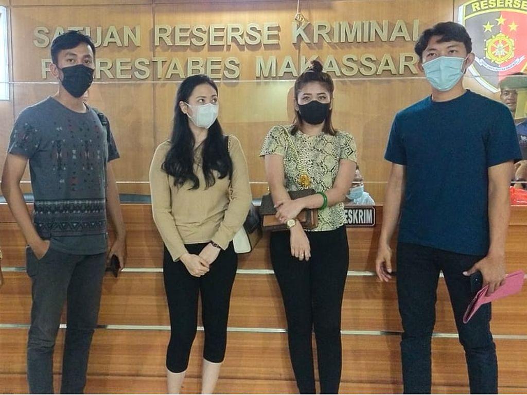 Keroyok Wanita Gegara Cekcok di Medsos, 2 Selebgram di Makassar Ditangkap