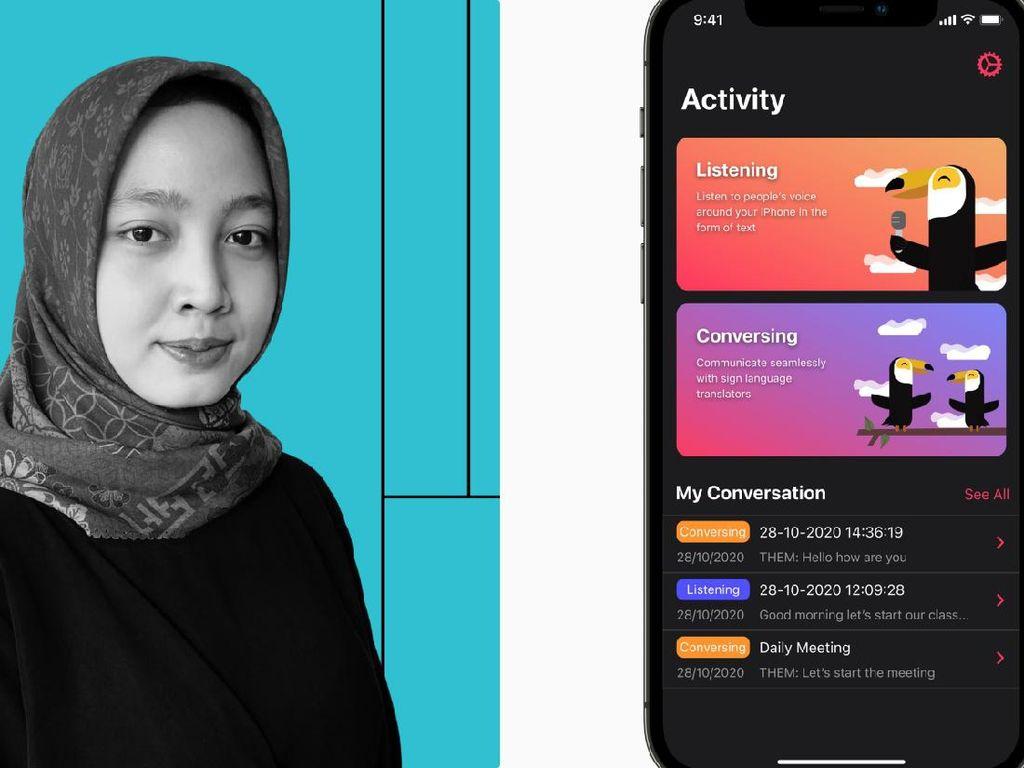 Keren! Perempuan Indonesia Ini Bikin Aplikasi yang Pikat Apple