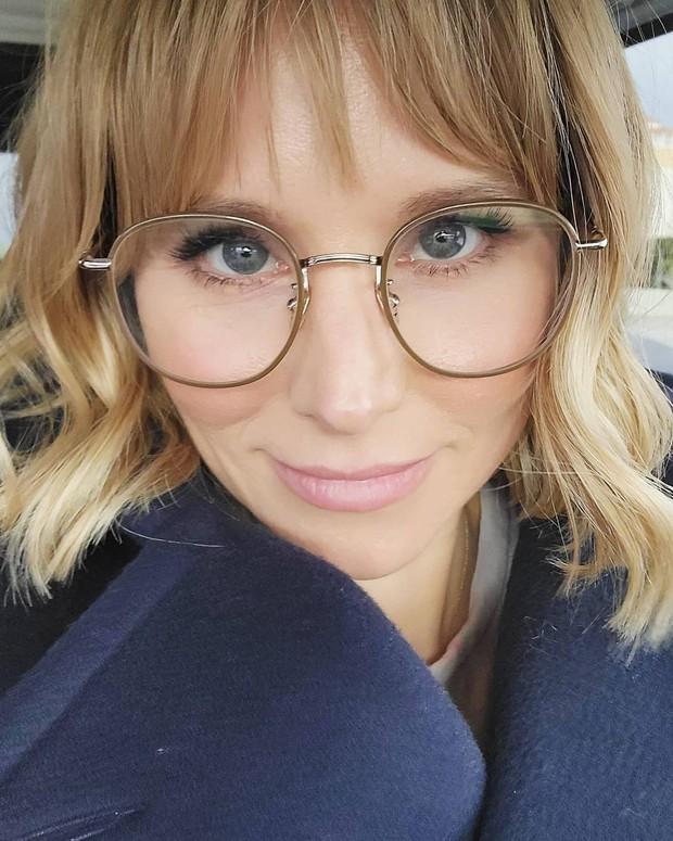 Gaya rambut baru dari seleb Hollywood Kristen Anniebell.