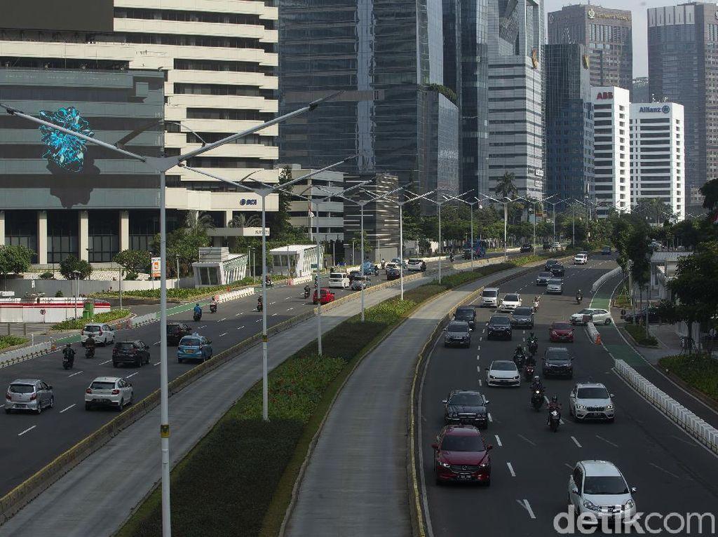 Kian Sedikit Titik Ganjil Genap Usai Level PPKM Jakarta Diturunkan