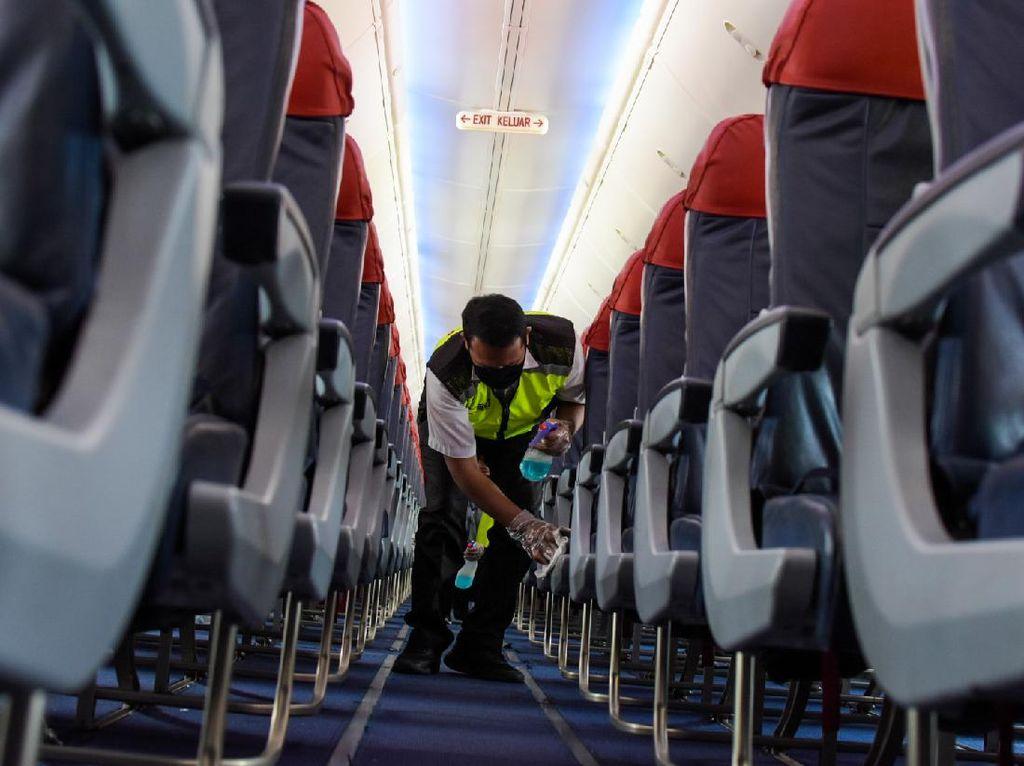Di Tengah Pandemi, Lion Air Group Galakkan Pengecekan dan Pembersihan Rutin