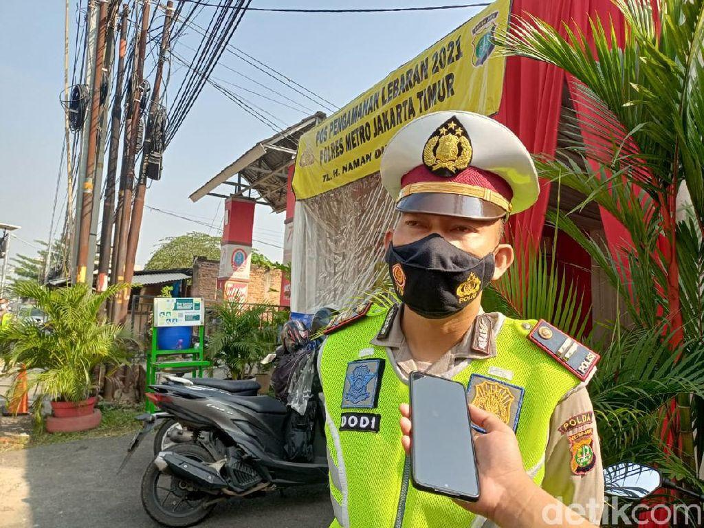 Kena! 2 Travel Gelap Modus Keluarga Diputar Balik Polisi