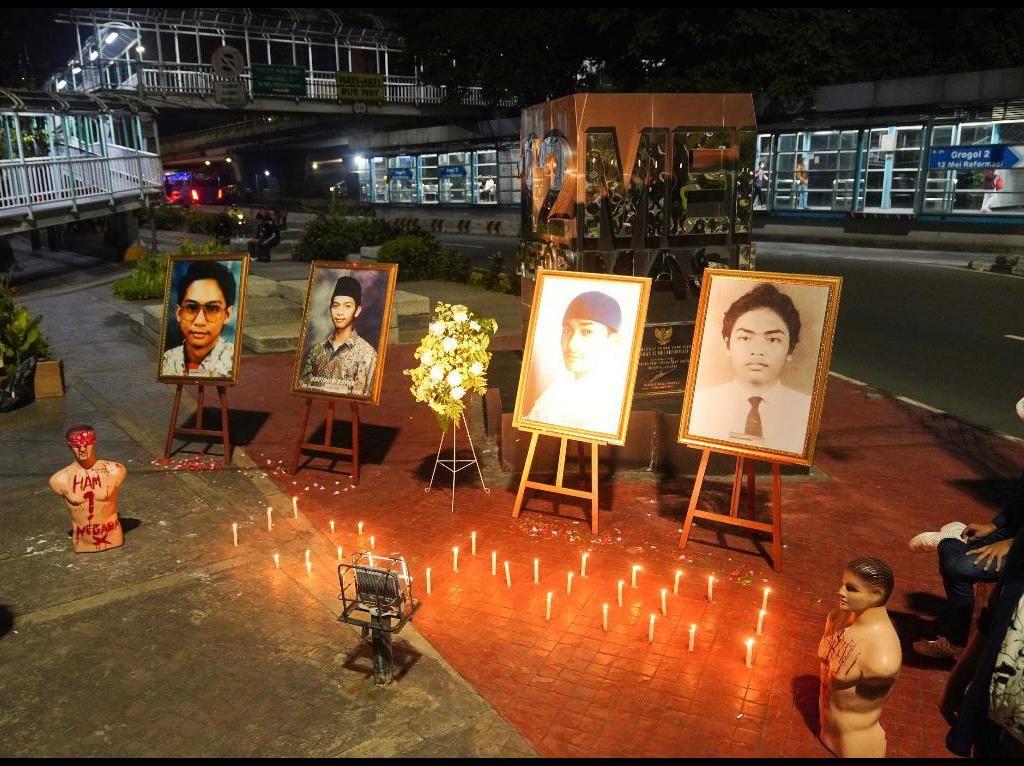 Peringati 23 Tahun Tragedi Trisakti, Mahasiswa Kritik Pelemahan KPK