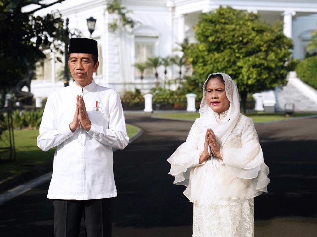 Jokowi: Selamat Idulfitri, Semoga Indonesia Bangkit dari Covid-19