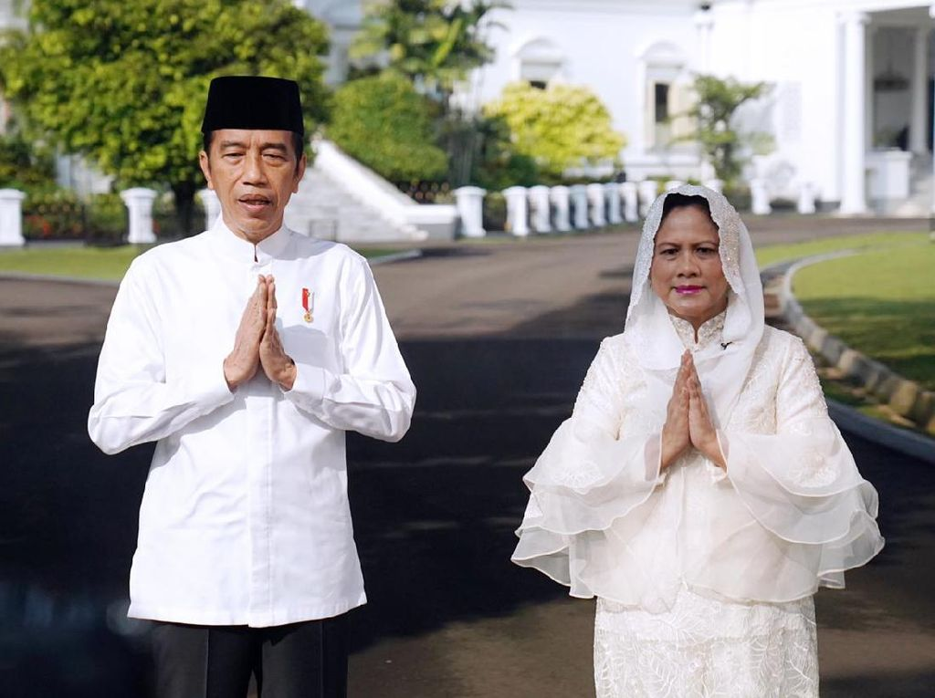 Cerita Jokowi Rayakan Lebaran Tanpa Anak, Menantu dan Cucu