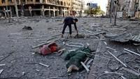 Warga Palestina di Gaza Rayakan Idul Fitri di Tengah Gempuran Israel