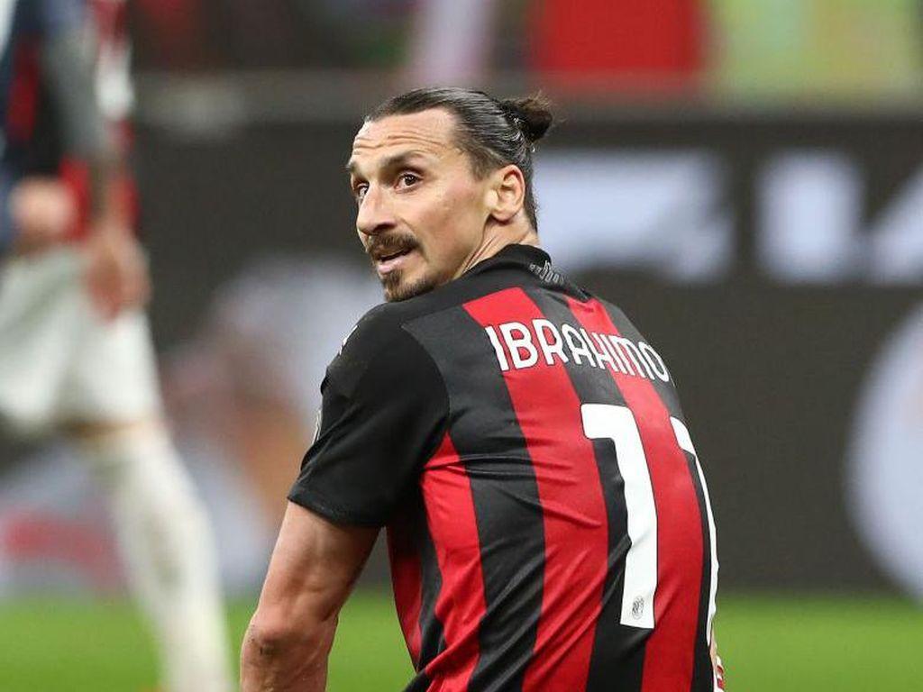 Ibrahimovic Terancam Absen Membela Milan Hingga Akhir Musim
