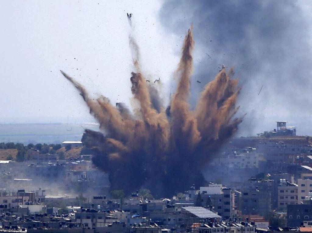 Bertemu Pemimpin Hamas, Menlu Qatar Tuntut Serangan Israel Diakhiri