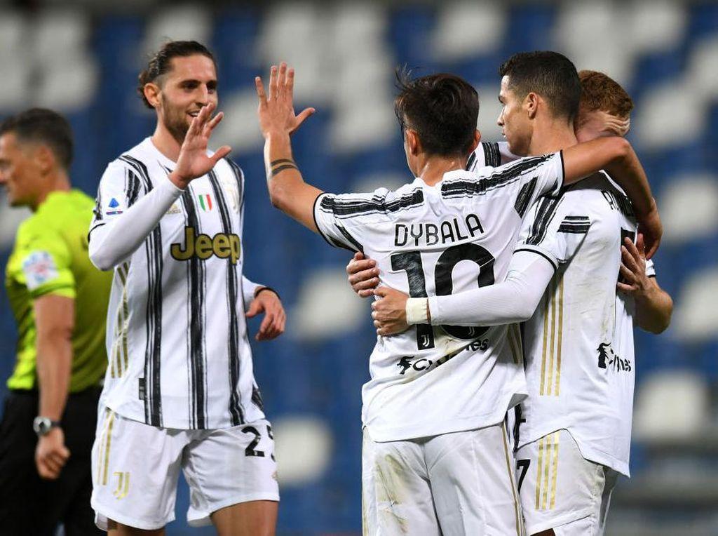 Sassuolo Vs Juventus: Ronaldo Cetak Gol, Bianconeri Menang 3-1