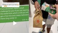 Kasih Tantangan ke Ojol Hadiahnya Cuma Snack, TikToker Ini Dihujat Netizen