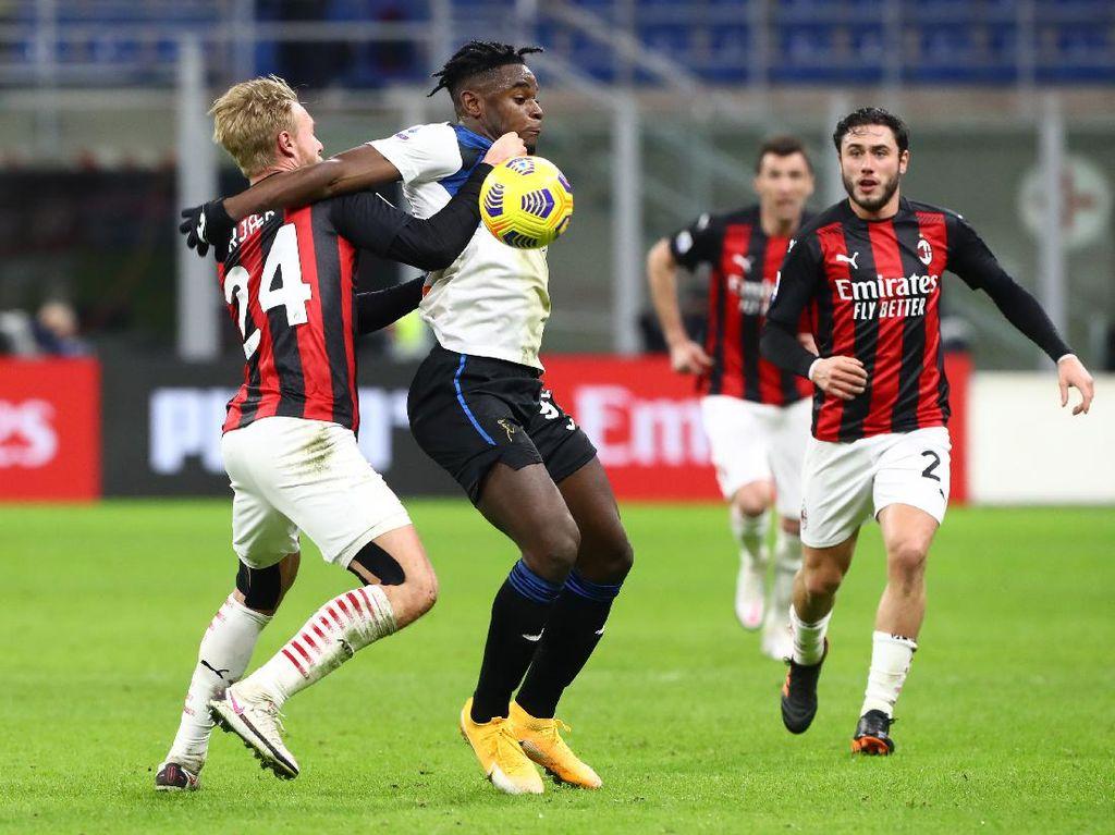 AC Milan dan Atalanta Satu Kemenangan Lagi Kunci Tiket Liga Champions
