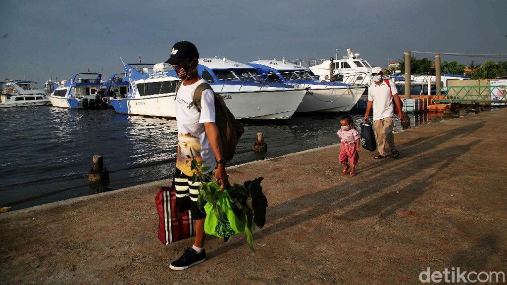 Begini Suasana Pelabuhan Kaliadem Saat Libur Lebaran