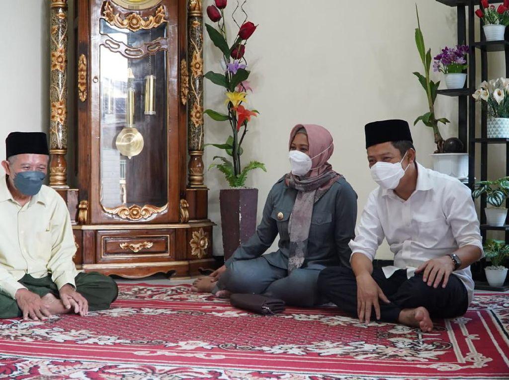 Tak Gelar Open House, Wali Kota Mojokerto Silaturahmi ke Para Kiai