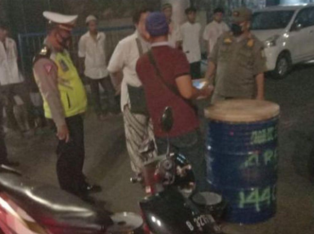 Nekat Takbir Keliling, Sejumlah Pemuda di Jaktim Diamankan Polisi