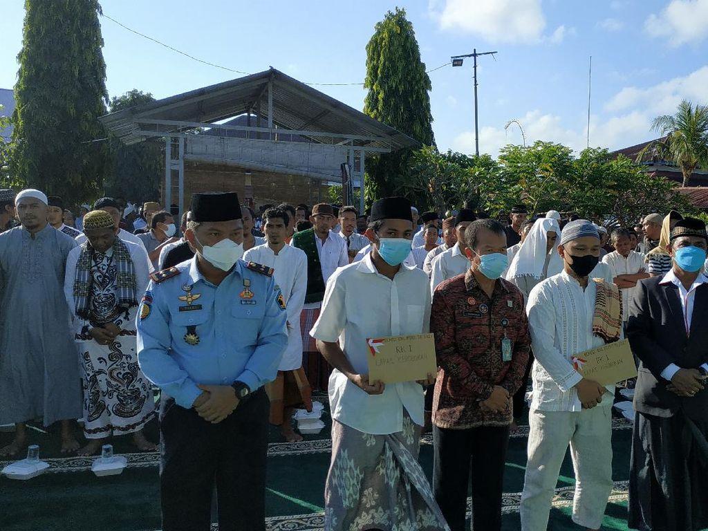 801 Napi di Bali Terima Remisi Idul Fitri, 2 Orang Langsung Bebas
