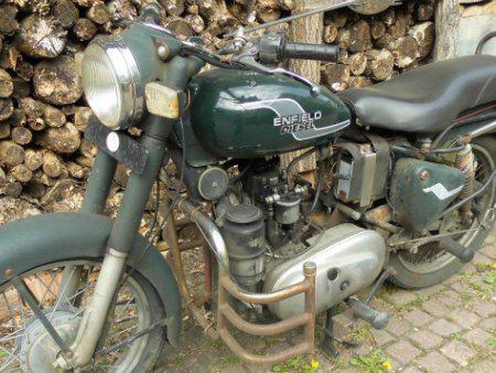 Royal Enfield sempat Bikin Motor Diesel, Iritnya Ngalahin Honda BeAT