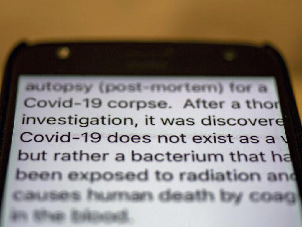 India Dibayangi Misinformasi Corona di Tengah Lonjakan Kasus COVID-19