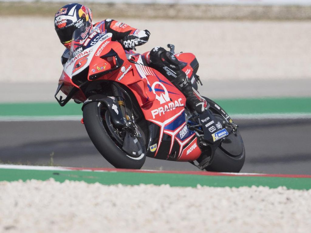 Latihan Bebas Hari Pertama MotoGP Austria: Zarco Tercepat