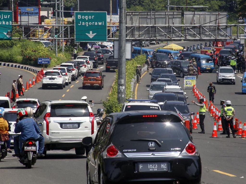 Libur Lebaran, Ada Penyekatan Kendaraan di Kawasan Puncak Bogor