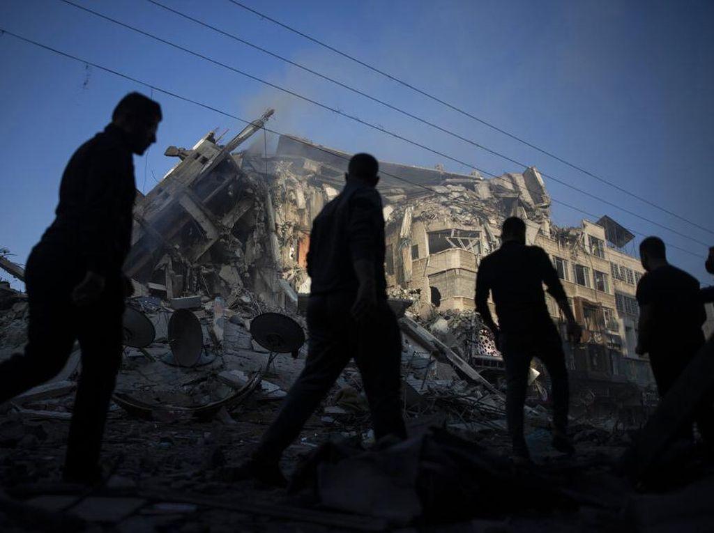 Beda Sikap Sekutu Prancis dan AS soal Konflik Israel-Palestina
