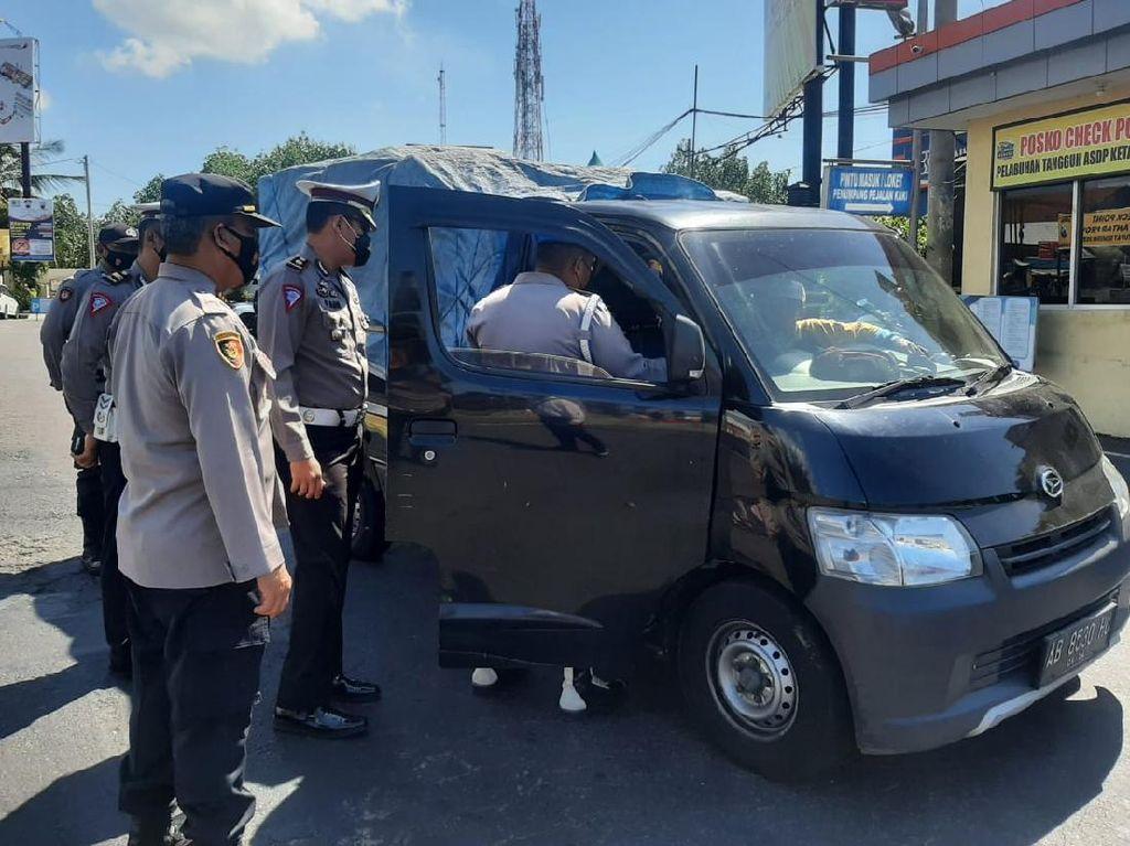 Polisi Banyuwangi Mulai Perketat Arus Balik Lebaran 2021