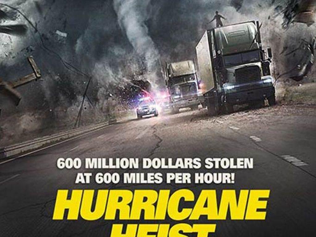 Sinopsis The Hurricane Heist, Aksi Perampokan di Tengah Badai