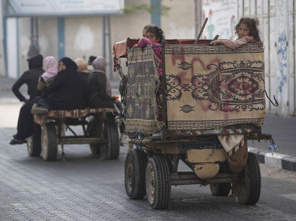 Israel Gempur Gaza, Korban Jiwa Warga Palestina Bertambah Jadi 132 Orang