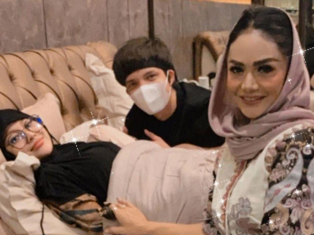 Krisdayanti Ungkap Kondisi Kesehatan Aurel Hermansyah yang Nge-drop
