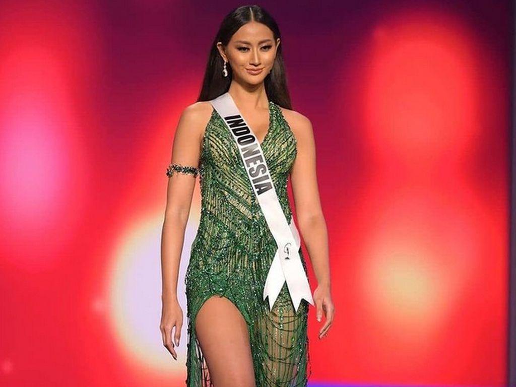 Tak Masuk Top 10 Miss Universe, Warganet: Terima Kasih Ayuma!