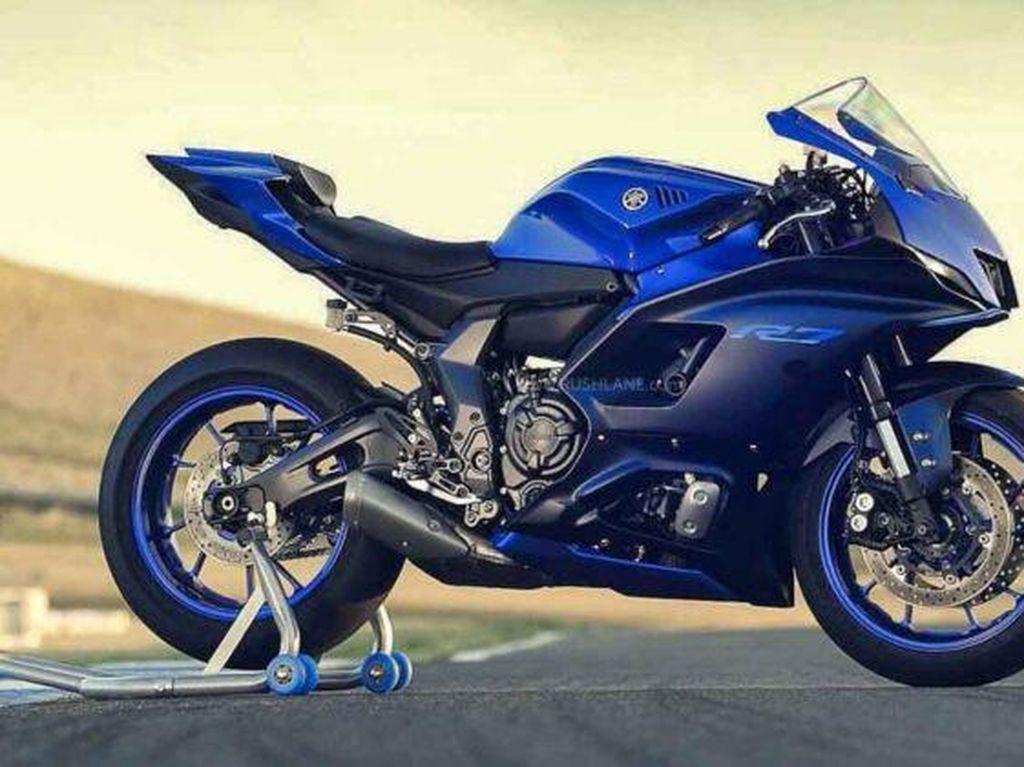 Bocor! Ini Penampakan All New Yamaha YZF-R7, Sang Pengganti YZF-R6