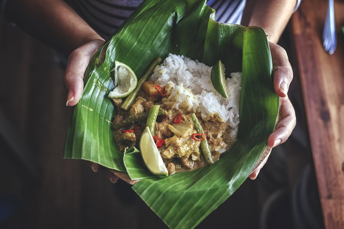 daun pisang bagus untuk memasak