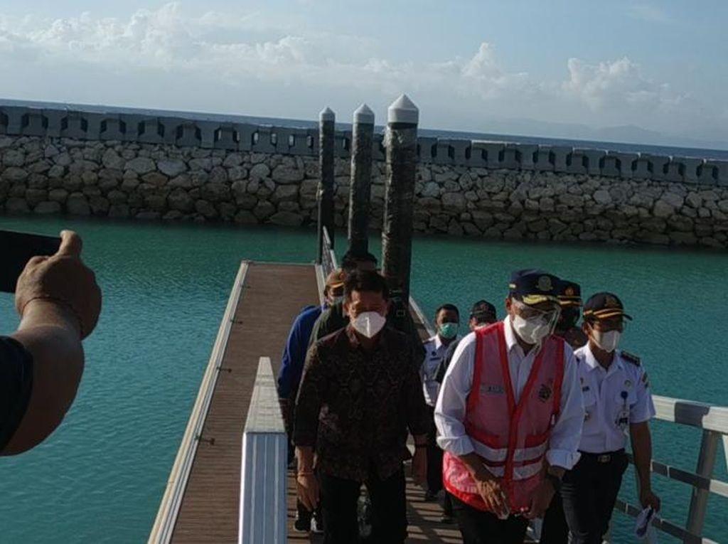 Menhub Janji Pelabuhan Nusa Penida Rampung Tahun Baru 2022