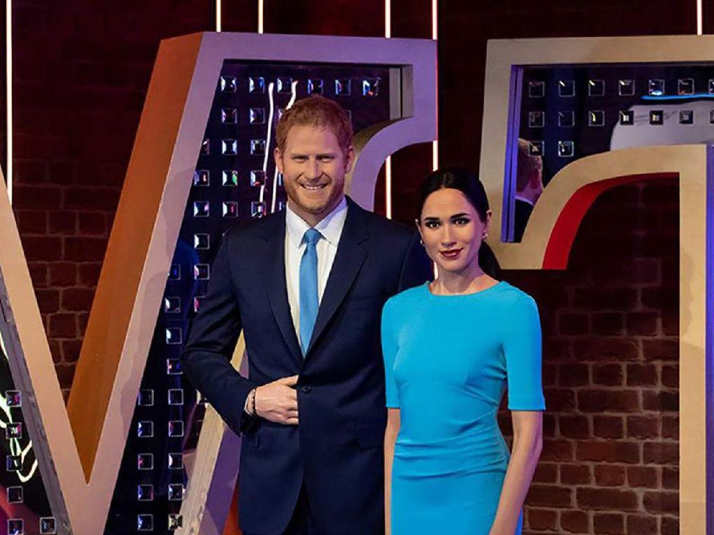 Rumah Baru Pangeran Harry dan Meghan Markle di Madame Tussauds