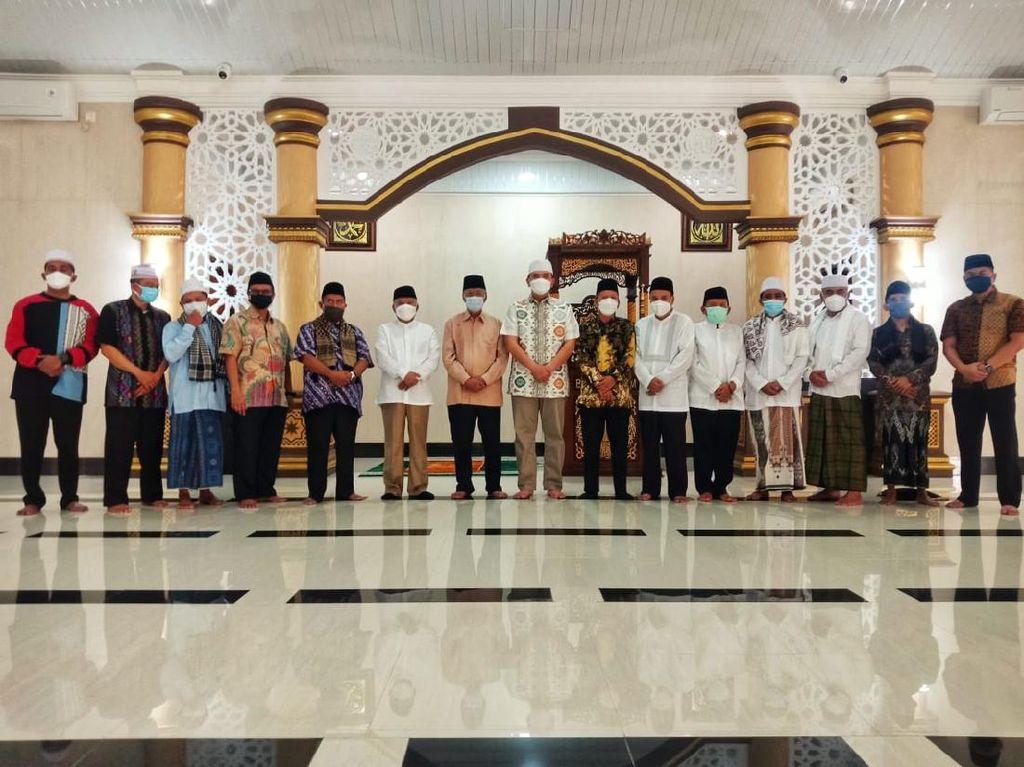Momen Lebaran, Kapolda NTB Terima Kunjungan Silaturahmi Tokoh Agama