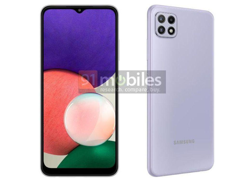Galaxy A22, Calon HP 5G Termurah dari Samsung